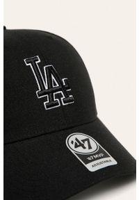 Czarna czapka z daszkiem 47 Brand gładkie