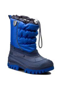 Niebieskie śniegowce CMP na spacer