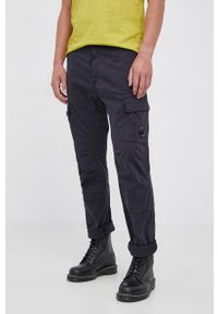 C.P. Company - Spodnie. Okazja: na co dzień. Kolor: niebieski. Styl: casual