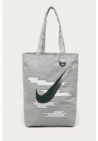 Nike Sportswear - Torebka. Kolor: szary. Rodzaj torebki: na ramię