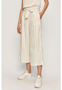 Białe spodnie materiałowe TALLY WEIJL