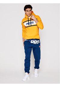 Prosto. - PROSTO. Bluza Tovex 2103 Żółty Regular Fit. Kolor: żółty