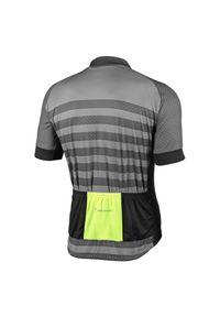 Koszulka rowerowa męska Nakamura Maglia Armor 43202001. Materiał: włókno, syntetyk, materiał, poliester, mesh, tkanina, skóra, dzianina. Wzór: gładki. Sport: kolarstwo