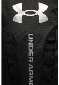 Under Armour - Plecak. Kolor: czarny. Wzór: aplikacja