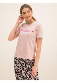 Różowy t-shirt Laurèl