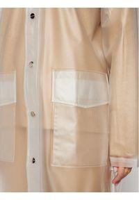 Rains Kurtka przeciwdeszczowa Unisex 1269 Biały Regular Fit. Kolor: biały #7