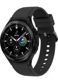 SAMSUNG - Smartwatch Samsung Galaxy Watch 4 Classic Stainless Steel 46mm LTE Czarny (SM-R895FZKAEUE). Rodzaj zegarka: smartwatch. Kolor: czarny