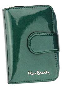Portfel damski Pierre Cardin 05 LINE 115 ZIELONY. Kolor: zielony. Materiał: skóra