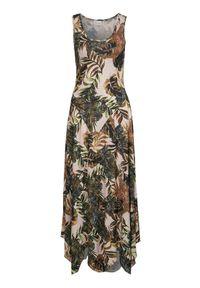 Cream Dżersejowa sukienka we wzory Bastillia Sand we wzory female beżowy/żółty/ze wzorem S (36). Kolor: beżowy, żółty, wielokolorowy. Materiał: jersey. Styl: elegancki