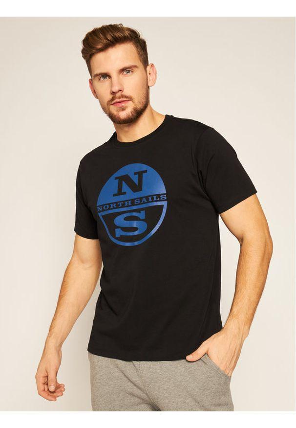 Czarny t-shirt North Sails