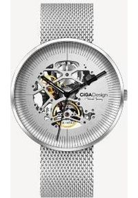 Srebrny zegarek Xiaomi analogowy