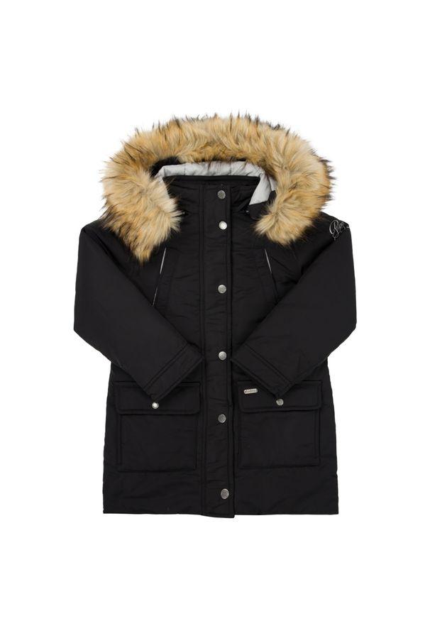 Czarna kurtka zimowa Pepe Jeans