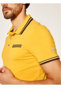Żółta koszulka polo Guess polo