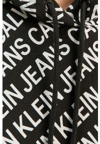 Czarna sukienka Calvin Klein Jeans na co dzień, oversize, casualowa, mini