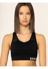 Czarny top DKNY Sport sportowy