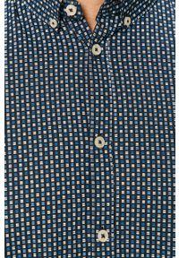 Niebieska koszula Tom Tailor casualowa, z długim rękawem, button down