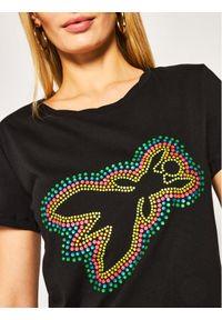 Czarny t-shirt Patrizia Pepe