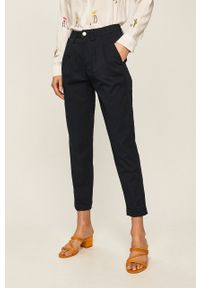 Niebieskie spodnie materiałowe ANSWEAR #4