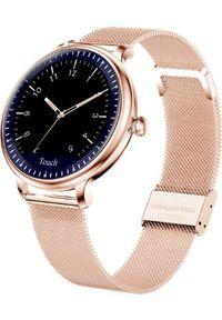 Smartwatch Smart And You NY12 Złoty. Rodzaj zegarka: smartwatch. Kolor: złoty