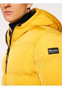 Champion Kurtka puchowa Rochester 214881 Żółty Regular Fit. Kolor: żółty. Materiał: puch