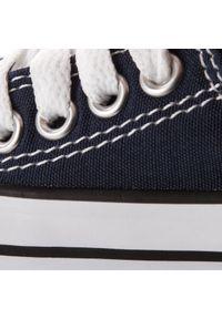 Niebieskie półbuty Converse casualowe, na co dzień