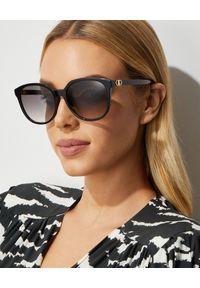 Dior - DIOR - Czarne okulary przeciwsłoneczne 30 Montaigne mini. Kolor: czarny
