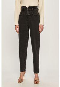 Czarne jeansy Miss Sixty z podwyższonym stanem, klasyczne