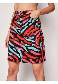 Spódnica mini Escada Sport w kolorowe wzory, sportowa
