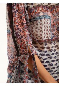 Różowa bluzka TOP SECRET elegancka, na lato