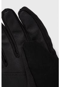 CMP - Rękawiczki. Kolor: czarny. Materiał: tkanina. Wzór: gładki
