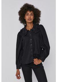 Levi's® - Levi's - Koszula bawełniana. Okazja: na co dzień, na spotkanie biznesowe. Kolor: czarny. Materiał: bawełna. Długość rękawa: długi rękaw. Długość: długie. Wzór: gładki. Styl: biznesowy, casual