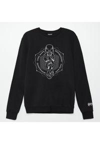 Cropp - Bluza z nadrukiem Harry Potter - Czarny. Kolor: czarny. Wzór: nadruk