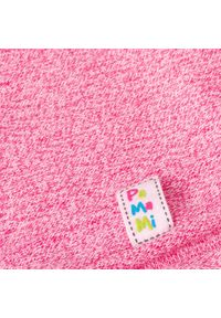 Różowa czapka PaMaMi na wiosnę