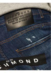 John Richmond Jeansy Skinny Fit Iggy MP20122JE Granatowy Skinny Fit. Kolor: niebieski. Materiał: jeans #3