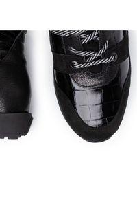 Czarne buty sportowe Gino Rossi