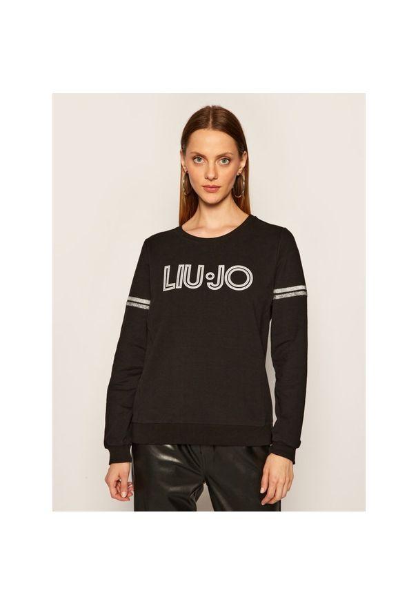 Czarna bluza Liu Jo Sport sportowa