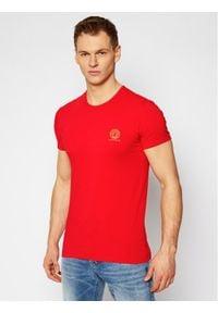 Czerwony t-shirt VERSACE
