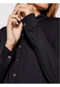 Marc O'Polo Koszula M07 2052 52505 Czarny Regular Fit. Typ kołnierza: polo. Kolor: czarny
