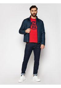 North Sails T-Shirt Graphic 692689 Czerwony Regular Fit. Kolor: czerwony