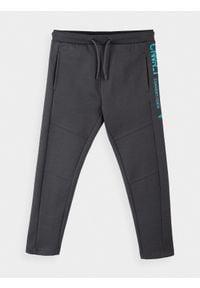 4f - Spodnie dresowe chłopięce (122-164). Kolor: szary. Materiał: dresówka