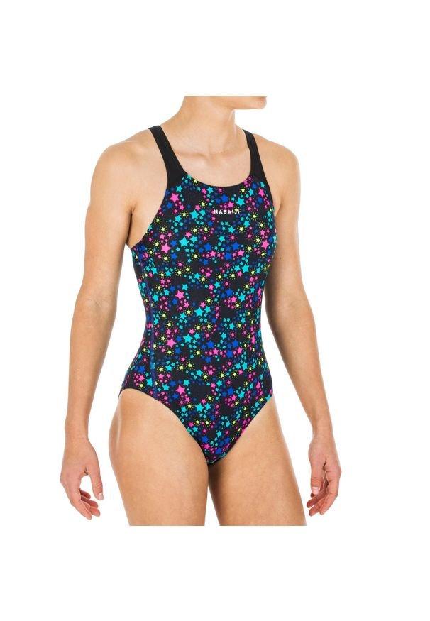 NABAIJI - Strój pływacki jednoczęściowy KAMYLEON STAR dla dzieci. Materiał: materiał