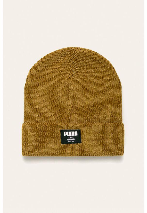 Oliwkowa czapka Puma