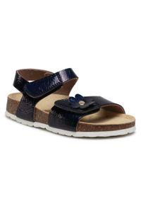 Superfit - Sandały SUPERFIT - 1-000118-8000 S Blau. Okazja: na co dzień. Kolor: niebieski. Materiał: skóra ekologiczna, materiał. Wzór: aplikacja. Sezon: lato. Styl: casual