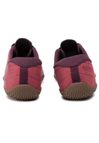 Czerwone buty do biegania Merrell z cholewką