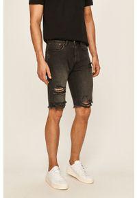 Czarne szorty Pepe Jeans na co dzień, casualowe, gładkie