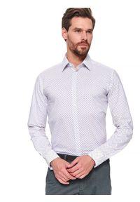Biała koszula TOP SECRET na wiosnę, z długim rękawem #7