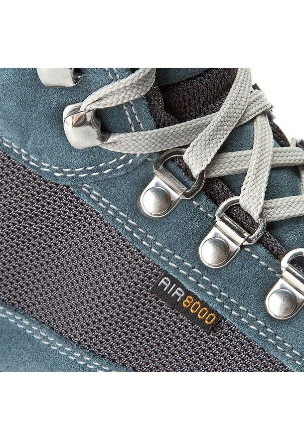 Niebieskie buty trekkingowe Aku na zimę, trekkingowe, Gore-Tex