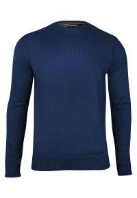 Niebieski sweter Brave Soul na co dzień, biznesowy