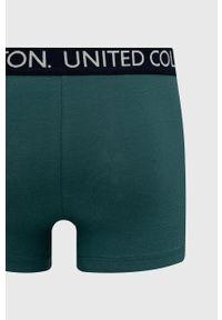 United Colors of Benetton - Bokserki. Kolor: zielony. Materiał: bawełna