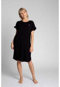 Czarna piżama MOE